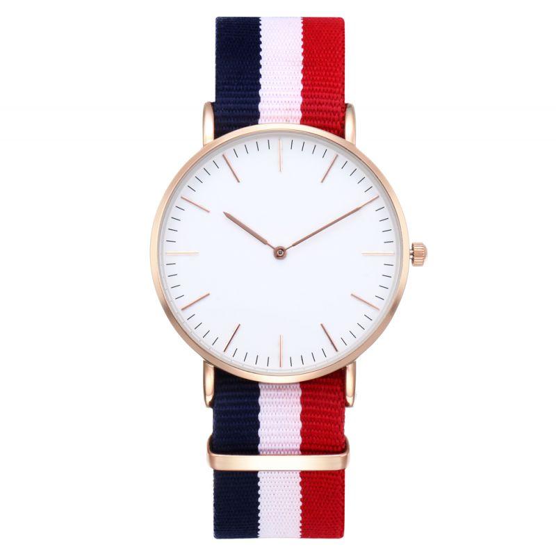 戈菲尔厂家直供DW款男士手表尼龙表带防水石英时尚手表一件代
