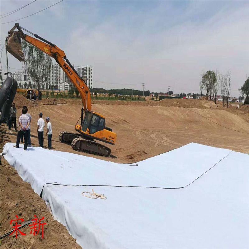 蓄水池复合土工膜焊缝检测