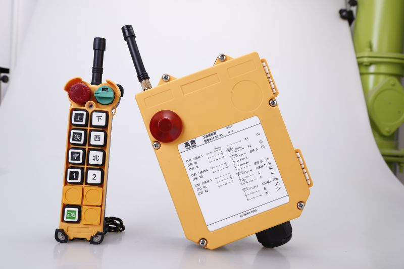 以F24-8D为例展示双速按键操作控制
