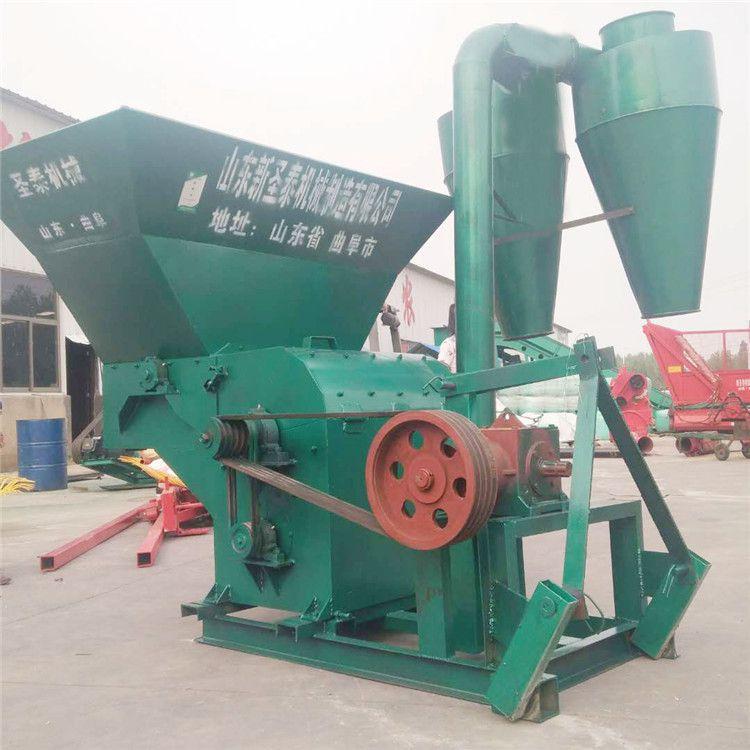 自动除尘玉米秸秆粉碎机 拖拉机带稻草破碎机