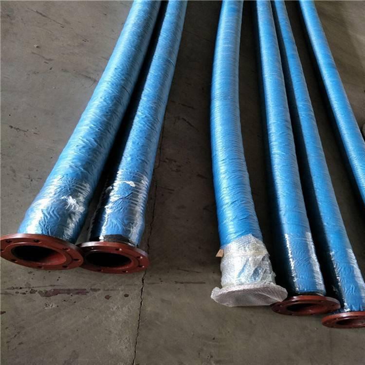 甘肃专业生产大口径伸缩胶管 吸排胶管