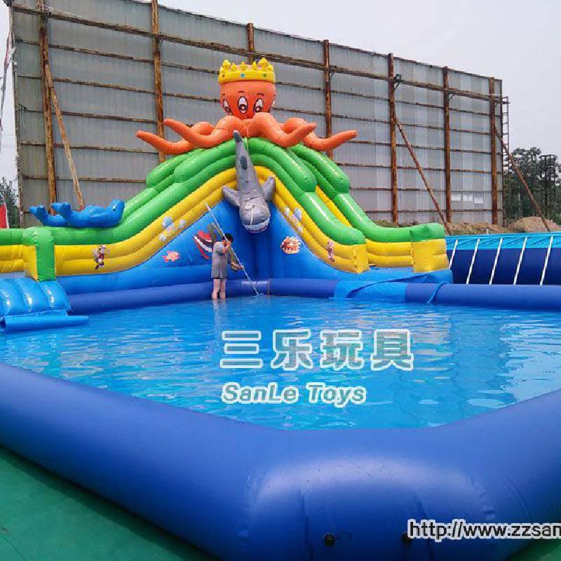 夏天到了,充气游泳池儿童乐园来一套经营