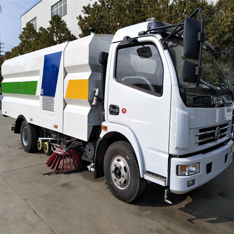 洗扫车_东风多利卡扫路车_9吨洗扫车厂家推荐
