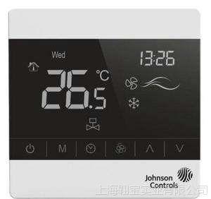 Johnson江森触摸屏中央空调控制器T8200-TB21-9JSO风机盘管温控器
