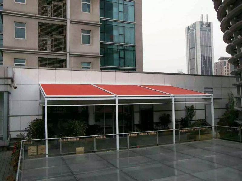 户外阳光房电动遮阳篷