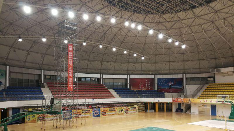 悦顿体育照明,体育馆照明案例展示,篮球馆照明改造项目