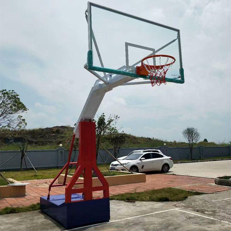 成人移动篮球架 健身路径器材 固定篮球架 篮球板