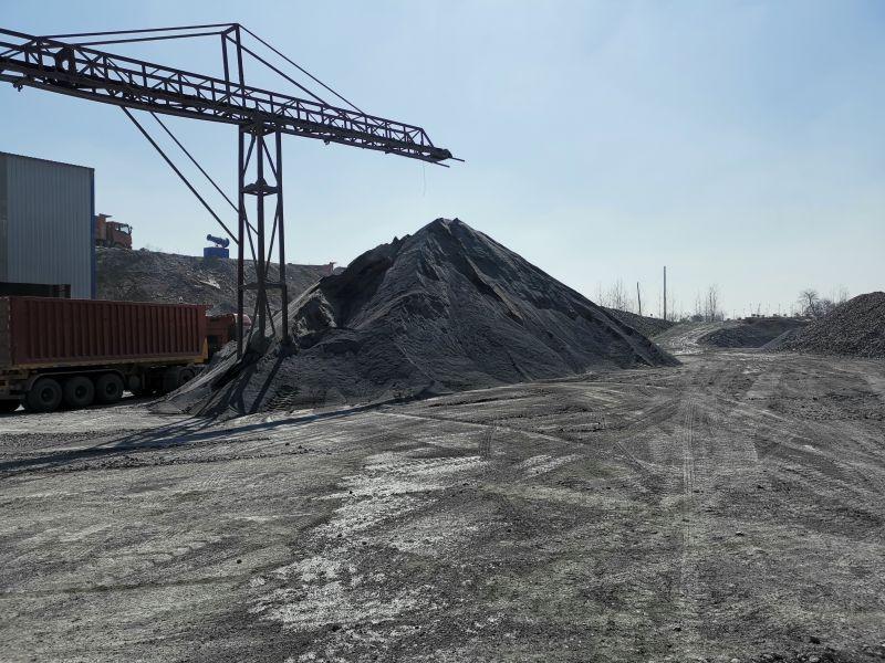 玄武岩普料生产中混凝土碎石
