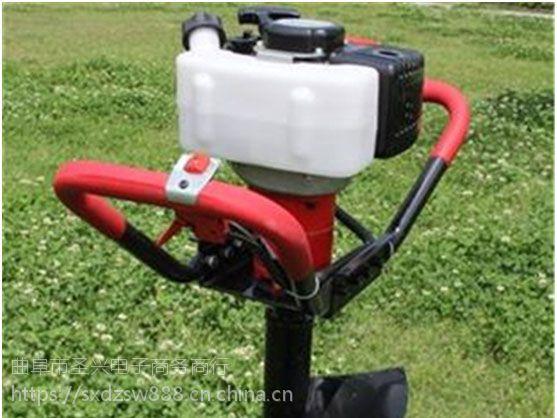 莆田新型挖坑机价格 轻便电启动汽油植树挖坑机耗电低