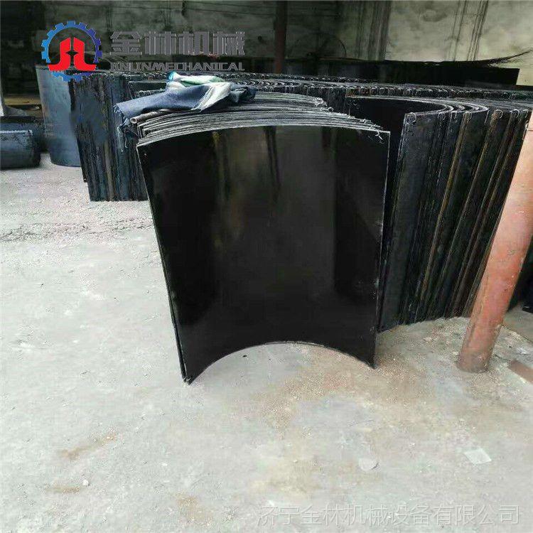 全力以赴不负春光搪瓷溜槽 耐磨钢板搪瓷溜煤子现货