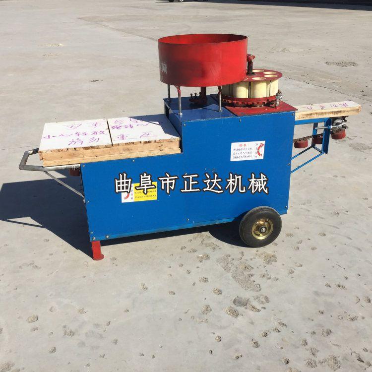 营养土装钵机 装袋机 大棚花卉育苗碎土装钵成套设备