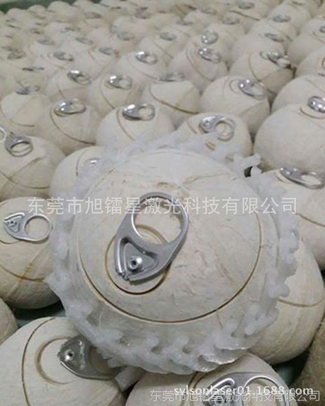 泰国南美南非州海椰皇半切激光机 复椰子易拉环开口激光切割机厂