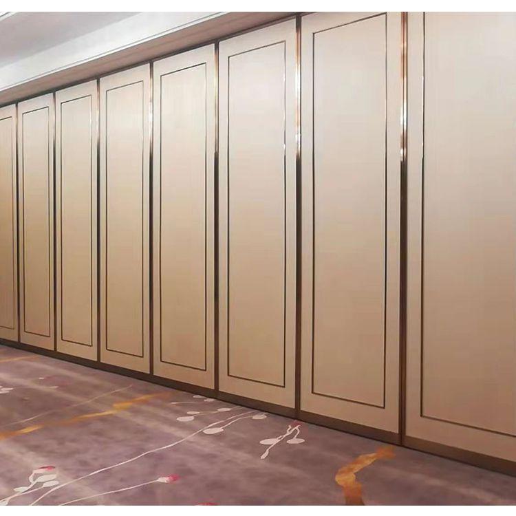 深圳赛勒尔中式风格移动隔断墙案例(酒店宴会厅专用屏风隔断)
