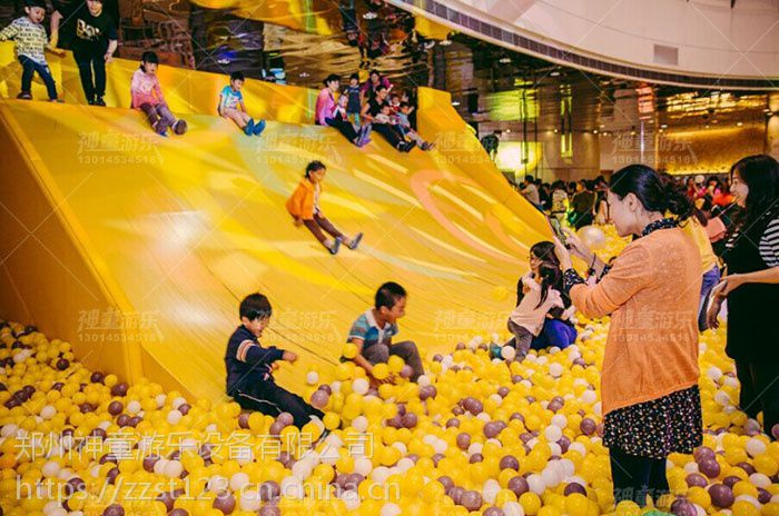 厂家规划设计安装售楼部儿童活动区百万球池
