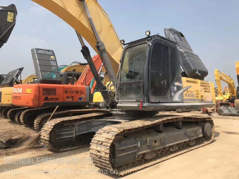 神钢380D大型二手挖掘机海关报关进口挖掘机