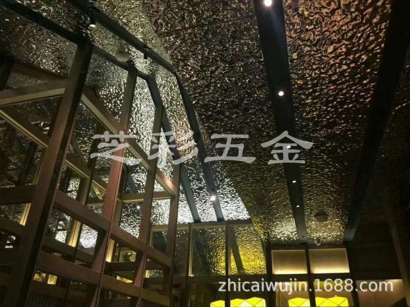 建筑装饰镜面水波纹 201水波纹 0.6厚8k板水波纹酒钢不锈钢