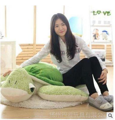 【胸口直销海龟厂家睡觉抱枕可爱大号毛绒玩具表情疼乌龟包图片