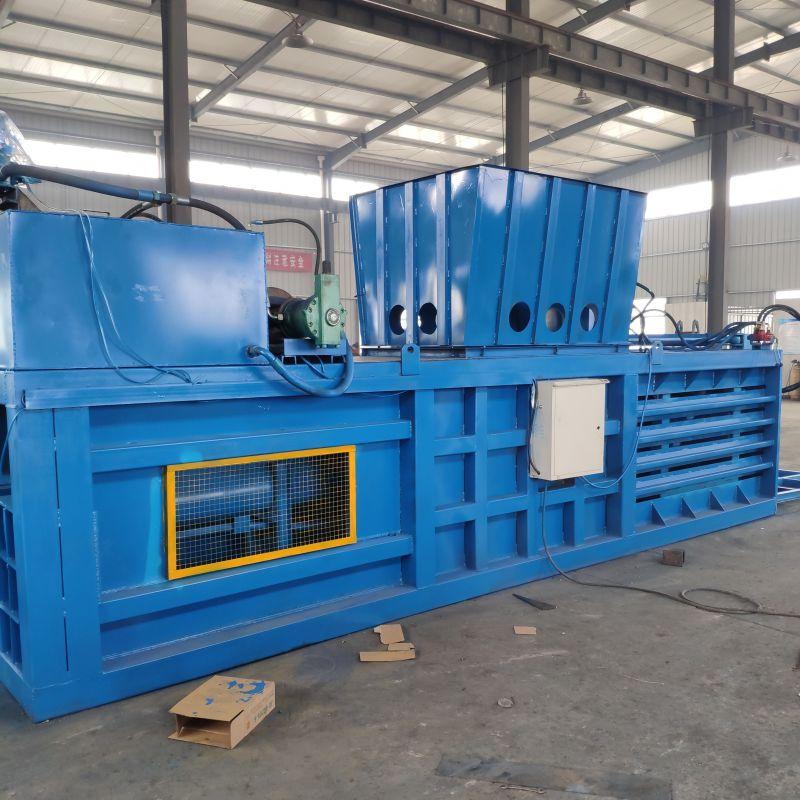 杭州废品回收站立式打包机秸秆打捆机尺寸定制