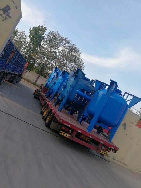 舟山鑫亚船舶公司采购3立方喷砂罐8台-安兴喷砂机械