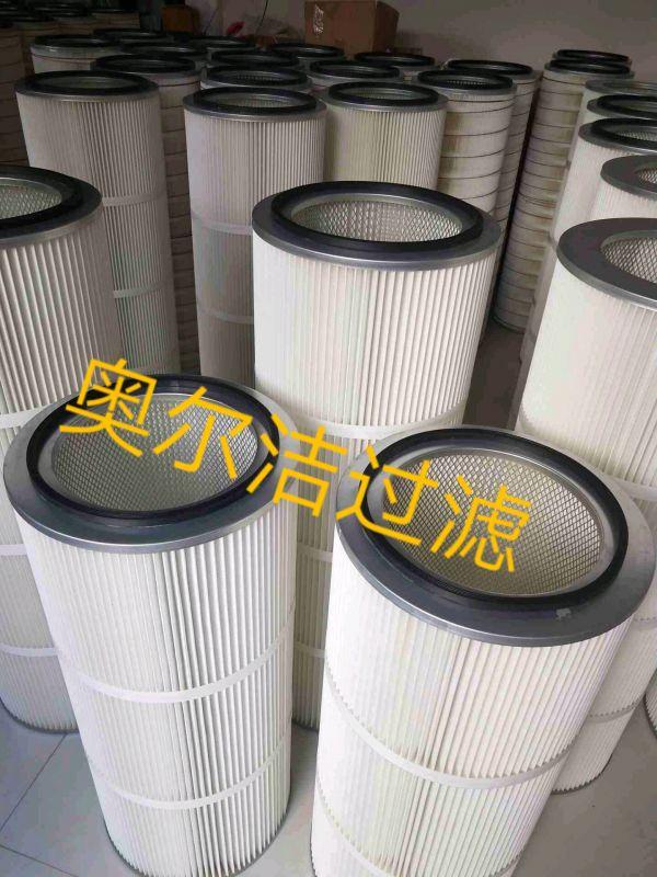 k3290聚酯纤维除尘滤筒320x660-工厂直销