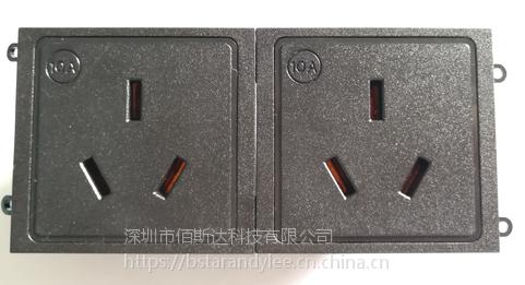 新国标3孔插座 直卡式插座供应商 PDU国标插座