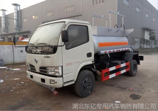 厂家直销东风多利卡3.6L排量甲醇运输车 乙醇异丙醇丙酮酒精液体运输车