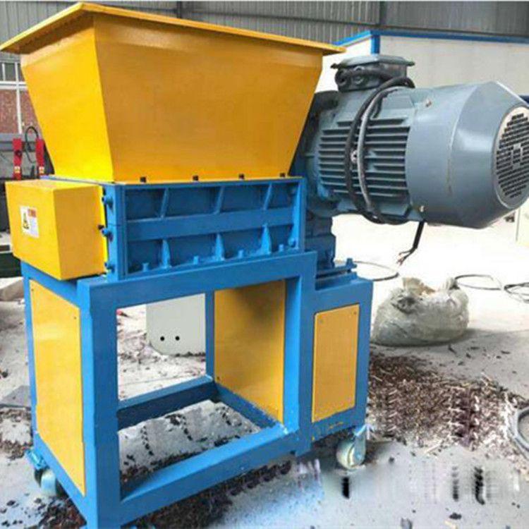 吉林铁桶撕碎机 管材铁皮粉碎机设备大功率