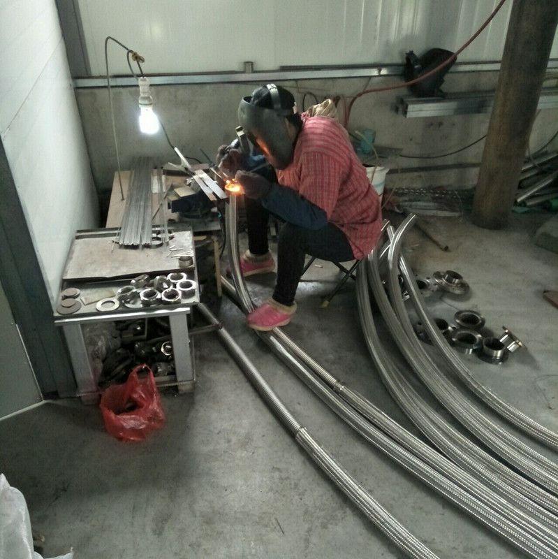 景县森元管业生产车间