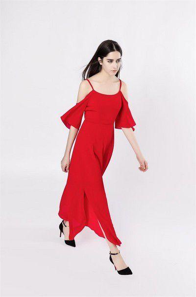 杭州原创一线品牌音非女装低折扣剪标专柜19年春货源分份