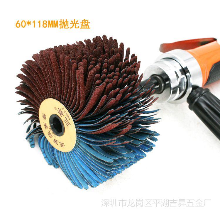 速豹BL6凹槽打底漆家具轮砂布磨机刷家具异形博瑞木工浙江图片