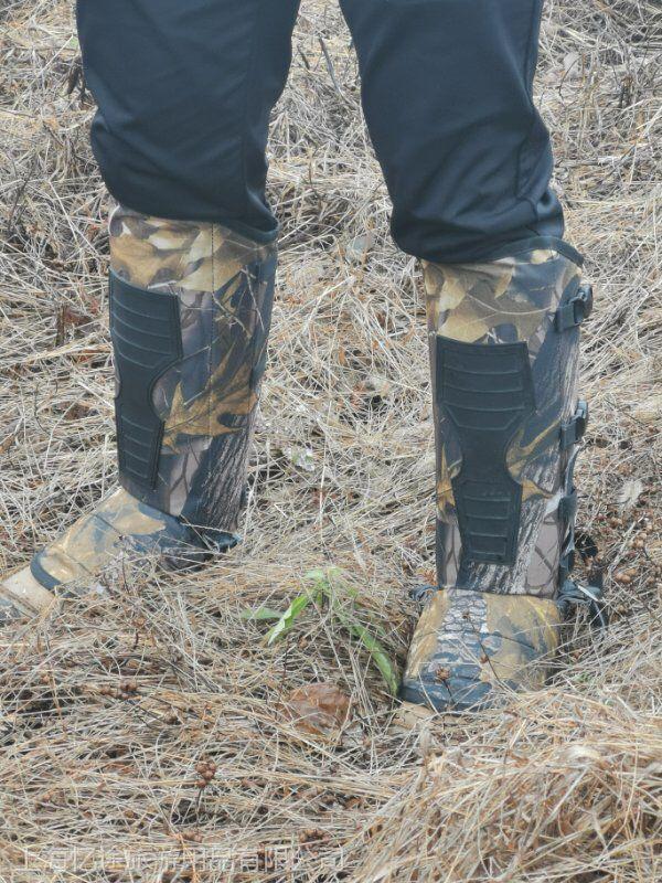 新款防蛇护腿防蛇护套腿部防护套野外垂钓防护套生产销售
