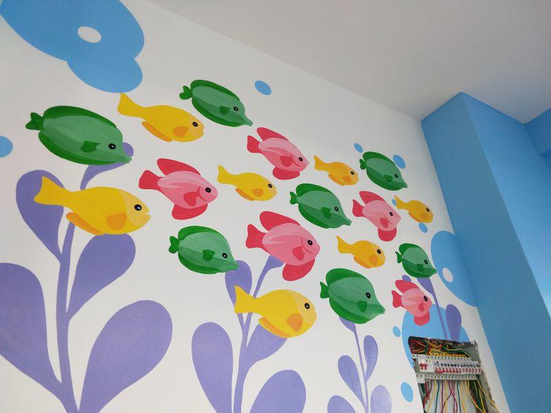 昆明墙体彩绘壁画手绘墙