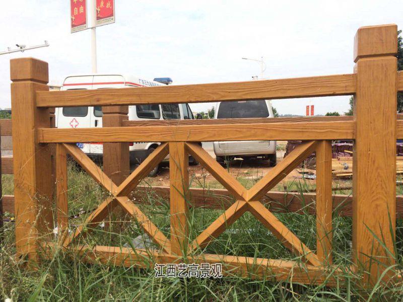 江西仿木栏杆厂家,水泥仿木栏杆制作流程