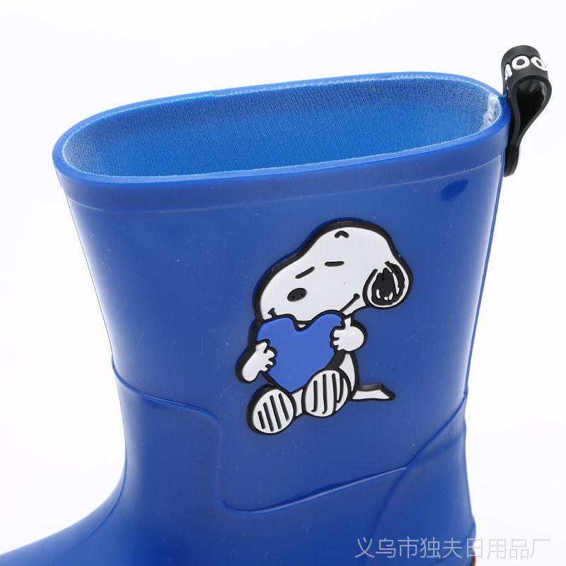 一件代发史努比宝宝雨鞋 卡通防滑童雨靴 2018CD款品牌儿童雨鞋