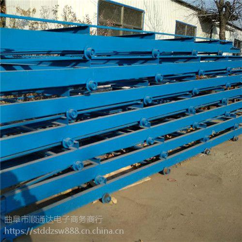 箱装物料链板输送机结构耐磨 小型链板输送机报价加工厂家萧山