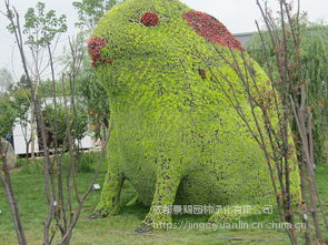 重庆绿雕造型雕塑景观 栩栩如生生动逼真
