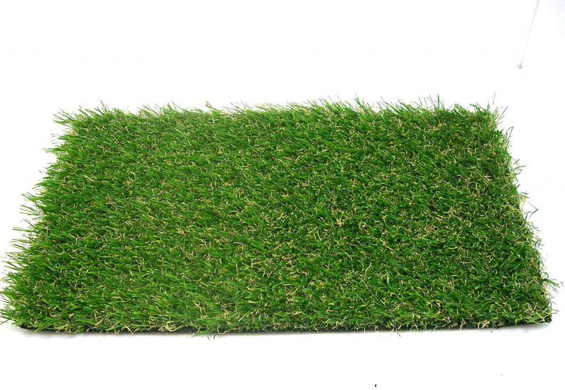仿真人造草坪绿化实拍图
