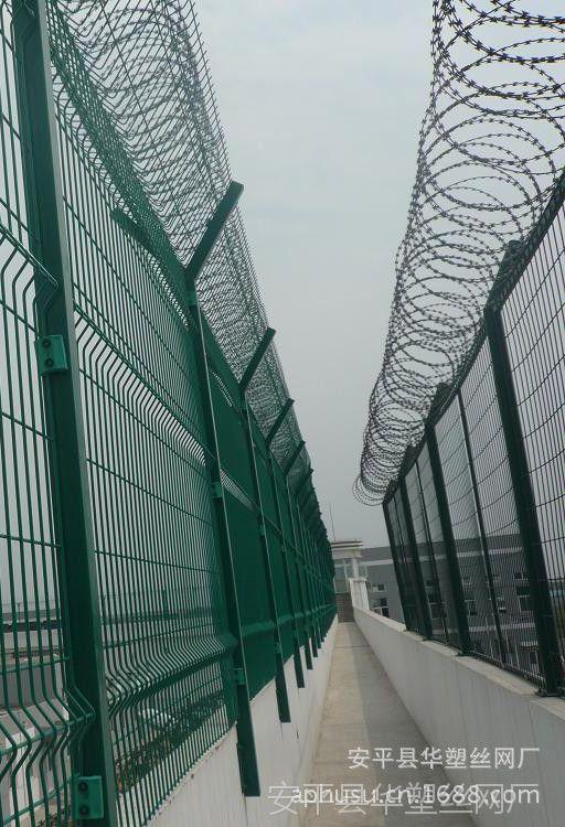 【厂家直销】监狱围栏、监狱护栏网、围墙刺绳护栏、防攀护栏网