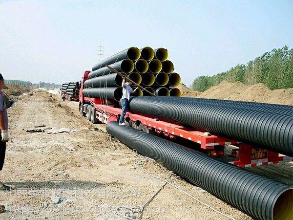 山西波纹管包括双壁波纹管和山西钢带管都可以用作排污排水