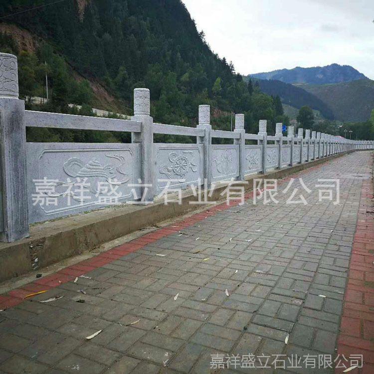 供应精雕大理石栏杆 道路围墙石材栏杆 大桥石栏杆