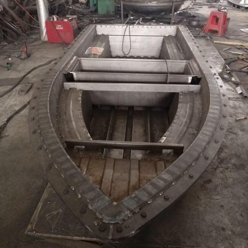 环保PE塑料小船 制作过程 远怀渔船保温箱 冲锋舟 钓鱼船