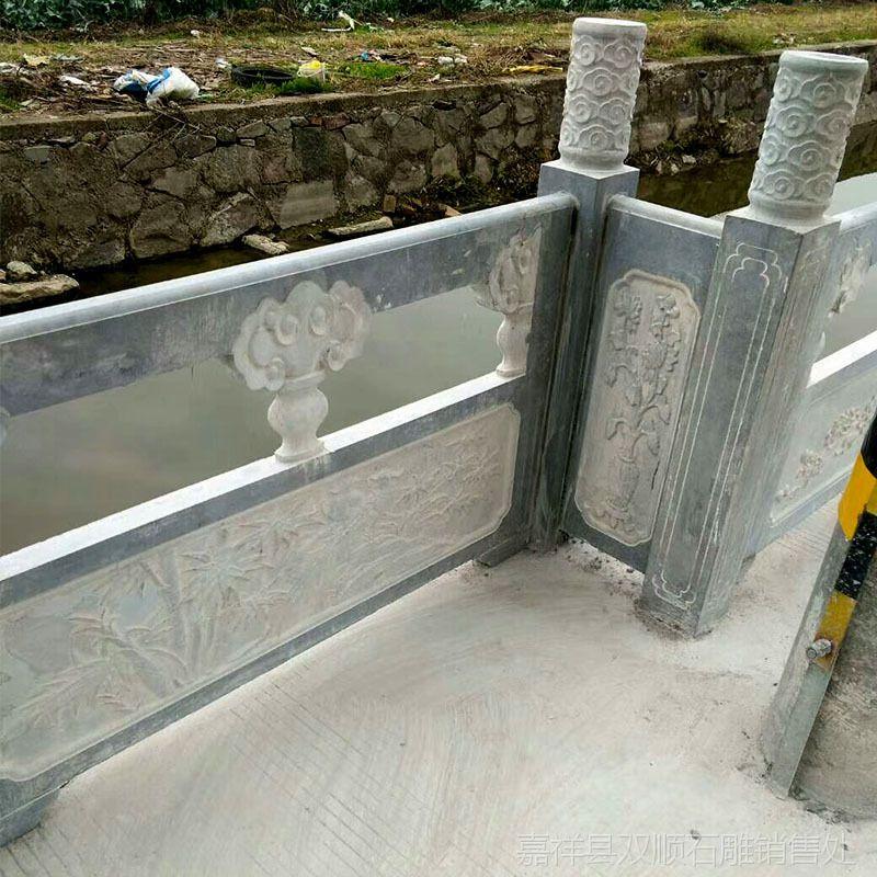 博诺石雕直销石雕栏杆 环城护河栏杆 时尚美观