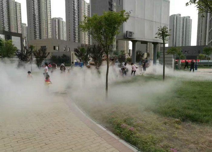 人民公园绿化景观人造雾景区雾森系统