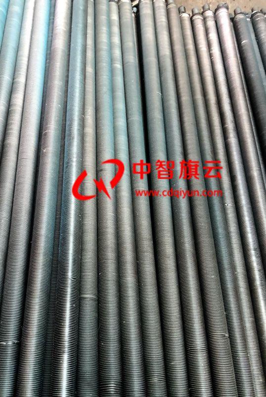 翅片管绕制过程 四川翅片管生产厂家 定做各类翅片管 换热器厂