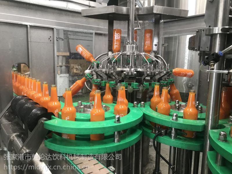灌装达全自动三合一液体灌装机玻璃瓶啤酒之星生产设备可定制美丽美伦直发器梳图片