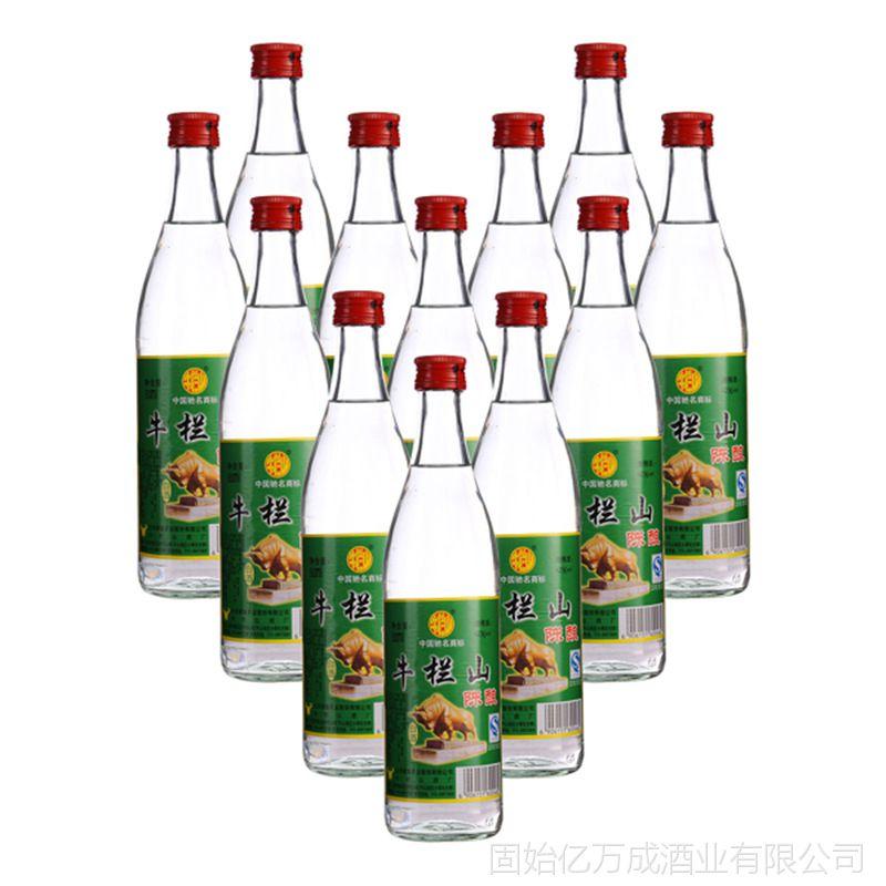 陈酿牛栏山二锅头42° 浓香型500ml*12瓶高度白酒批发
