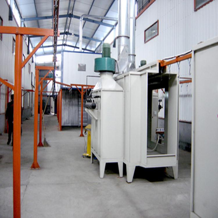 DSK静电喷涂线五金喷粉吊挂线物料输送线环保设备工程