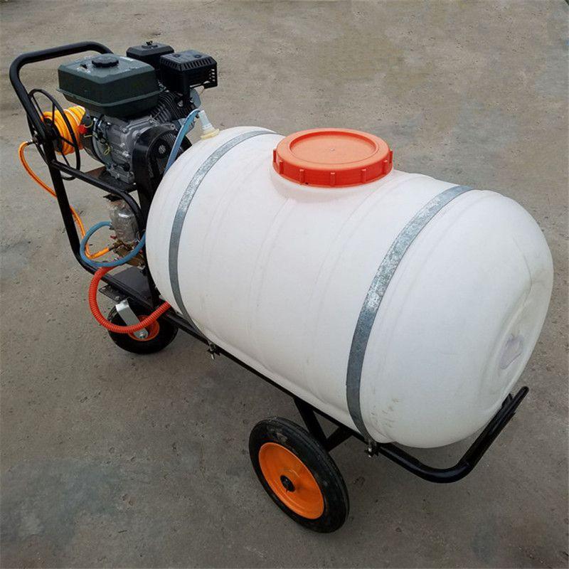 园林绿化打药机 手推式高压喷雾器宏程打药机