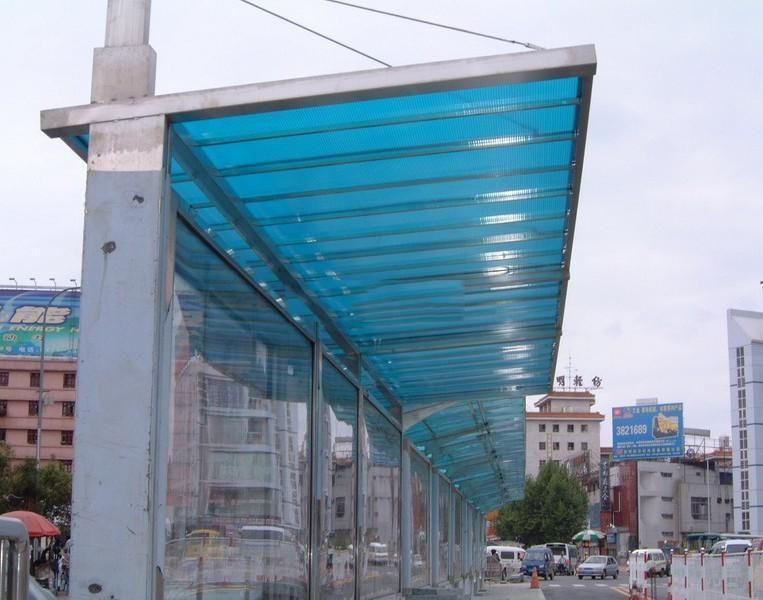 民和县湖蓝阳光板厂家
