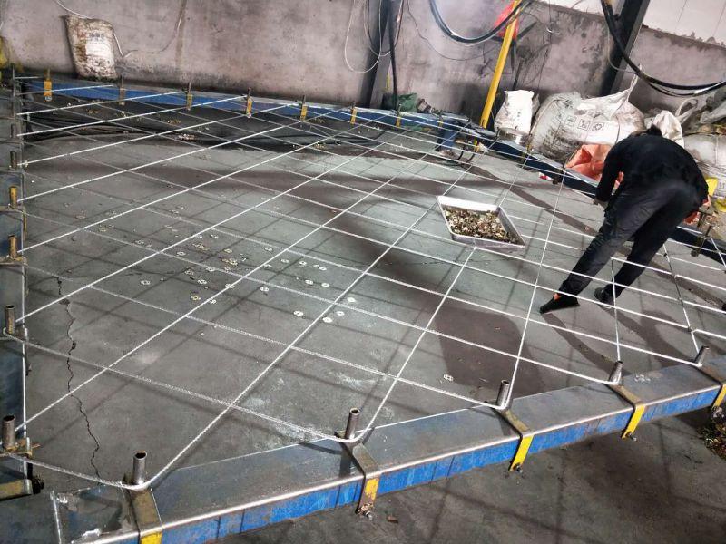 定制主动边坡防护网加工中